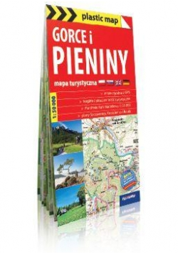 Plastic map Gorce i Pieniny 1:50 000 mapa