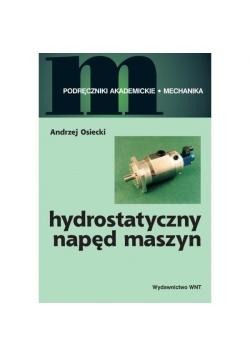 Hydrostatyczny napęd maszyn