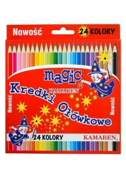 Kredki Magic 24 kolory KAMABEN