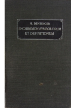 Enchiridion symbolorum, 1911 r.