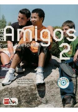 Aula Amigos 2 podręcznik + CD audio