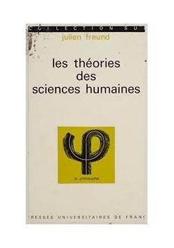 Les theories des sciences humaines