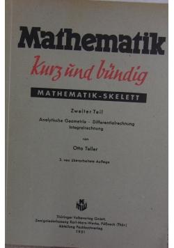 Mathematik kurz und bundig