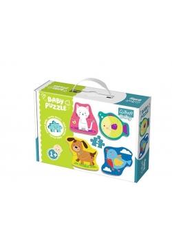 Puzzle Baby Classic - Zwierzątka TREFL
