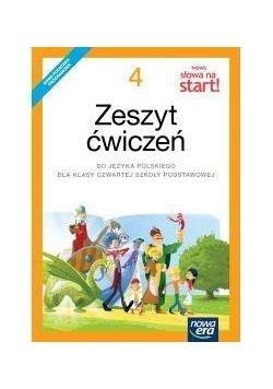 J.Polski SP  4 Nowe Słowa na start! ćw NE