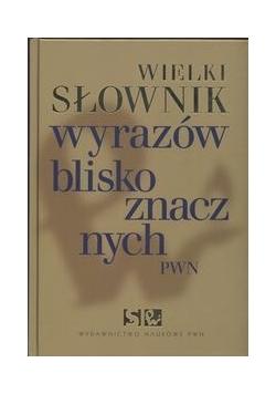 Wielki słownik wyrazów bliskoznacznych PWN z płytą CD