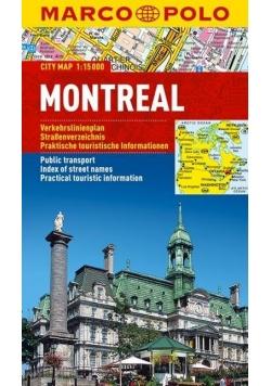 Plan Miasta Marco Polo. Montreal