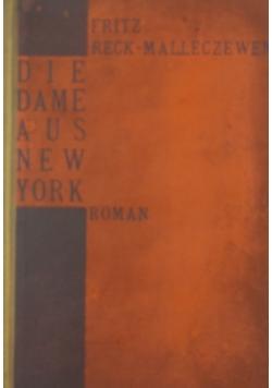 Die dame aus New York , 1921 r.