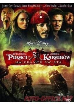 Piraci z Karaibów na krańcu świata DVD
