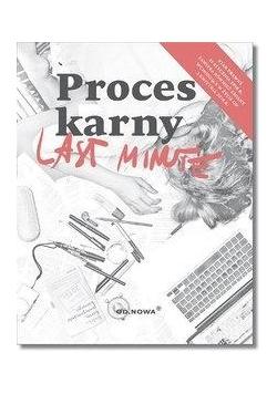 Last Minute Proces karny wyd.6