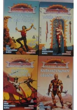 Księgi szkarłatnego słońca tom 2-5