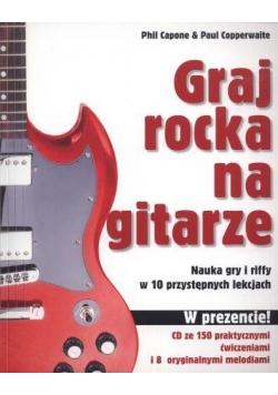 Graj rocka na gitarze