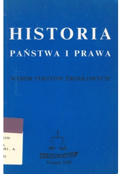 Historia Państwa i Prawa