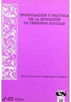 Investigación y practica en la educacion de personas adultas