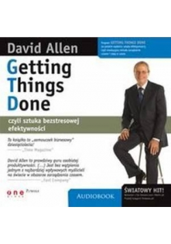 Getting things done. Audiobook