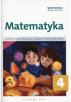 Matematyka 4 Zeszyt ćwiczeń