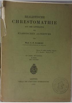 Realistische Chrestomathie, 1901 r.