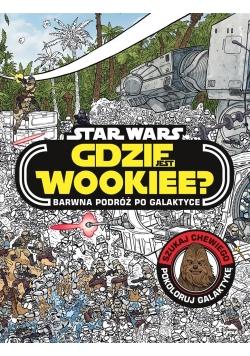 Star Wars. Gdzie jest Wookiee? Barwna podróż...