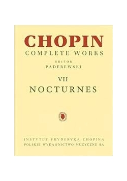Chopin complete works VII Nocturnes