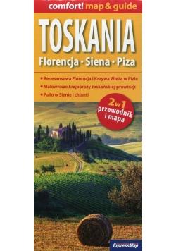 Toskania 2w1 przewodnik i mapa