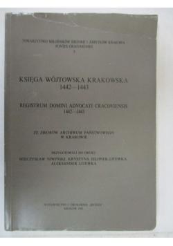 Księga wójtowska krakowska 1442-1443