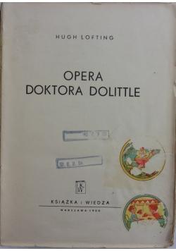Opera doktora Dolittle, 1950r.