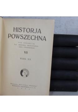 Historia Powszechna Tom I -VI 1931 r.