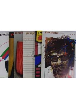 Czasopismo Projekt,nr 1-6/1976 r.