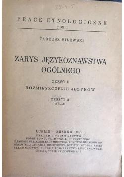Zarys językoznawstwa ogólnego część II, 1948 r.