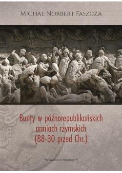 Bunty w późnorepublikańskich armiach rzymskich (88