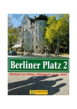 Berliner Platz 2 podręcznik z książką ćwiczeń
