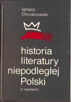 Historia literatury niepodległej Polski