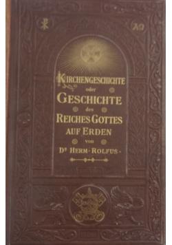 Kirchengeschichte ober geschichte des reiches gottes, 1894 r.
