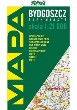 Bydgoszcz 1:21 000 plan miasta PIĘTKA