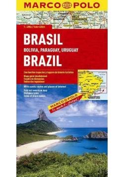 Mapa Drogowa Marco Polo. Brazylia 1:4 000 000