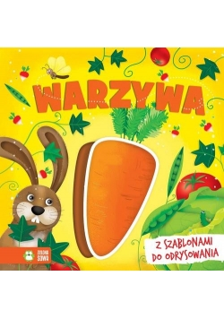 Książki z szablonami Warzywa