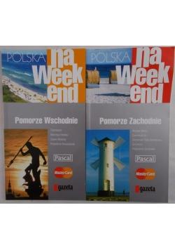 Polska na weekend.Zestaw 2 książek
