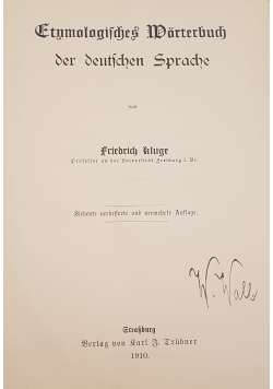 Etnologiafrches Worterbuch, 1910r.