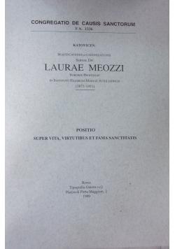 Beatificationis et canonizationis servae dei Laurae Meozzi