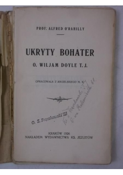 Ukryty bohater, 1926 r.