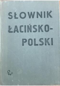Słownik łacińsko - polski