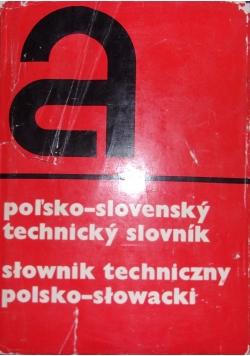 Słownik techniczny polsko - słowacki