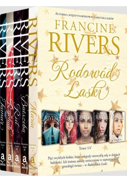 Pakiet Rodowód Łaski - Francine Rivers T.1-5