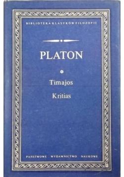 Platon - Timajos, Kritias BKF