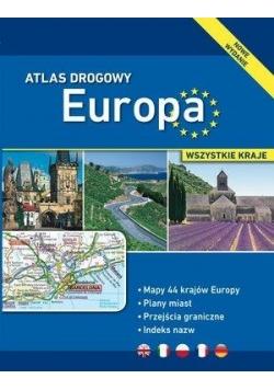 Atlas drogowy. Europa - wszystkie kraje