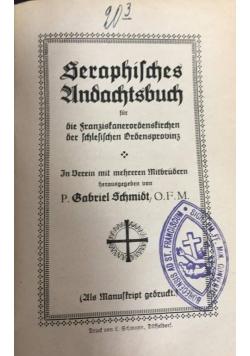 Seraphisches andachtsbuch, 1922 r.