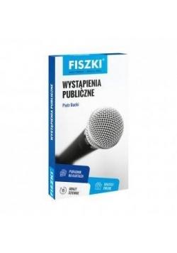 Fiszki. Wystąpienia publiczne