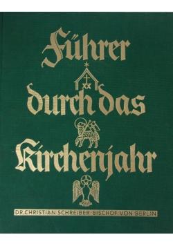 Fuhrer durch das kirchenjahr, 1935 r.