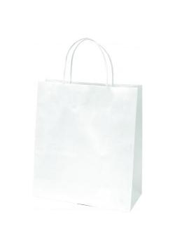 Torba prezentowa mała Eko biała