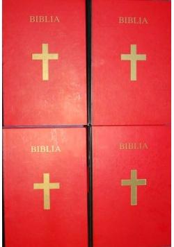Pismo Święte Starego i Nowego Testamentu, tom I-IV